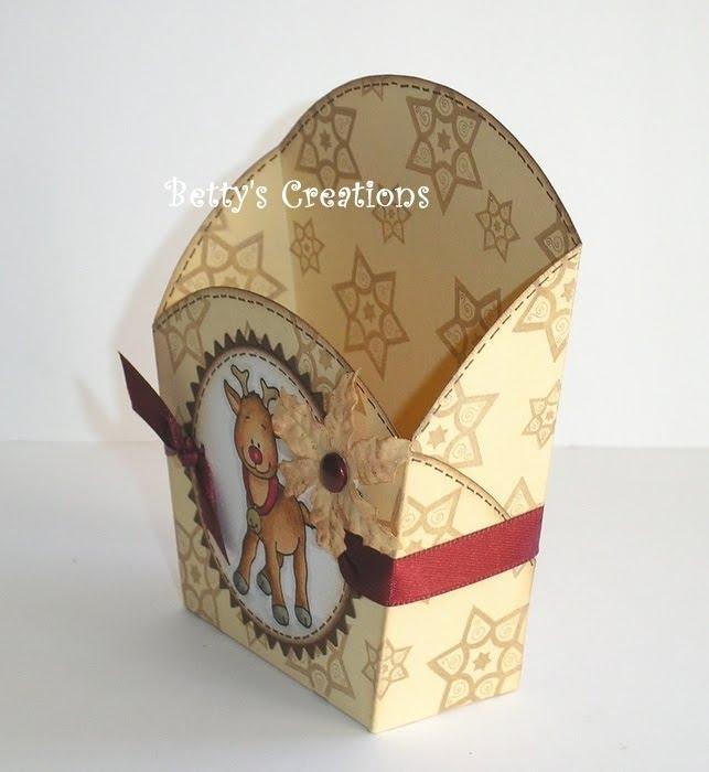 Коробочки, корзинки и новогодние игрушки из картона. Шаблоны (17) (643x700, 155Kb)