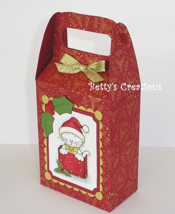 Коробочки, корзинки и новогодние игрушки из картона. Шаблоны (25) (573x700, 203Kb)