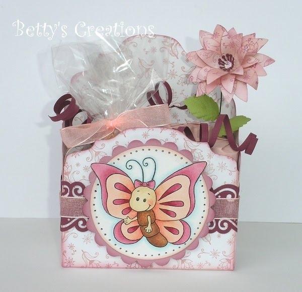 Коробочки, корзинки и новогодние игрушки из картона. Шаблоны (59) (600x580, 168Kb)
