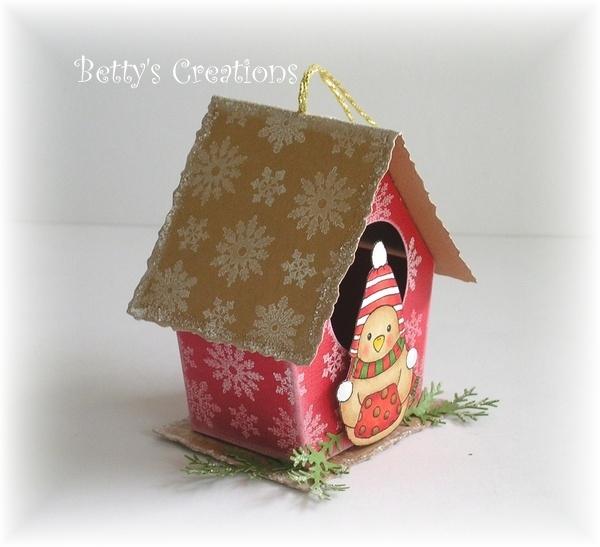 Коробочки, корзинки и новогодние игрушки из картона. Шаблоны (81) (600x547, 163Kb)