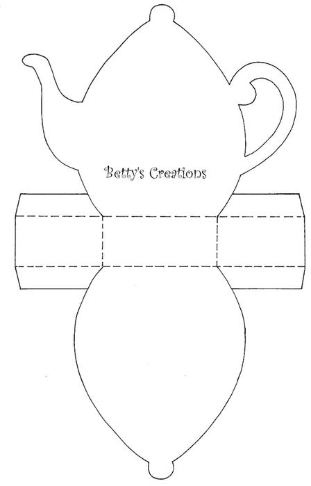 Коробочки, корзинки и новогодние игрушки из картона. Шаблоны (87) (448x700, 47Kb)