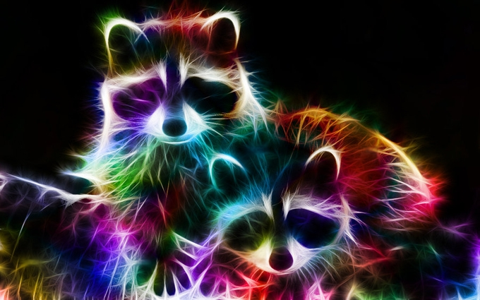 fractal_racoons_by_minimoo64-d36w2os (680x425, 217Kb)