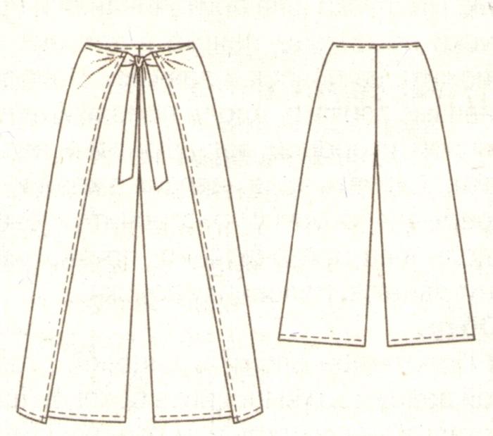 Как сшить женские брюки своими руками фото