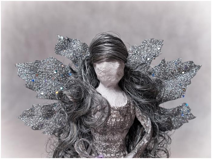 Рождественский ангел из папье маше. Видео мастер-класс (7) (700x526, 239Kb)