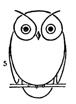СОВЫ. Винтажные картинки для творчества (5) (318x433, 43Kb)