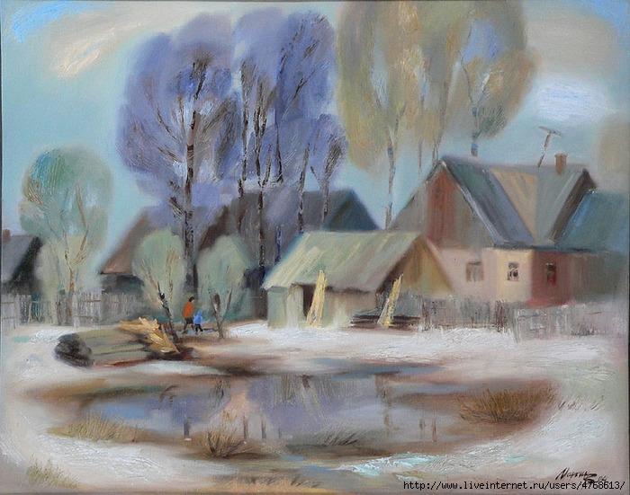 Маркин Виктор Весна в Михайловке Vesna_v_Mihaylovke (700x551, 293Kb)