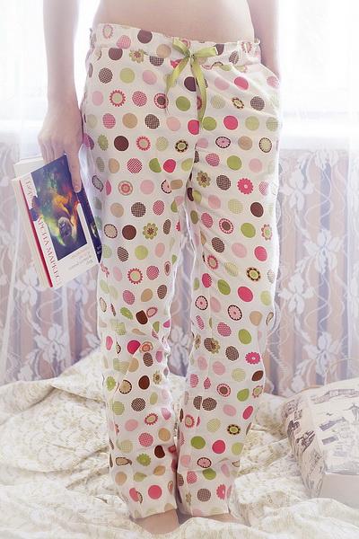 Пижамные штаны женские выкройка