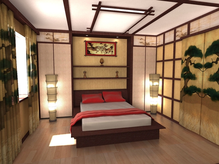 спальня в восточном стиле (21) (700x525, 262Kb)