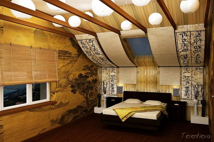спальня в восточном стиле (26) (700x465, 296Kb)