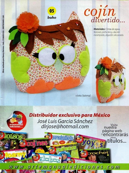 Подушки-игрушки журнал (8) (522x700, 352Kb)