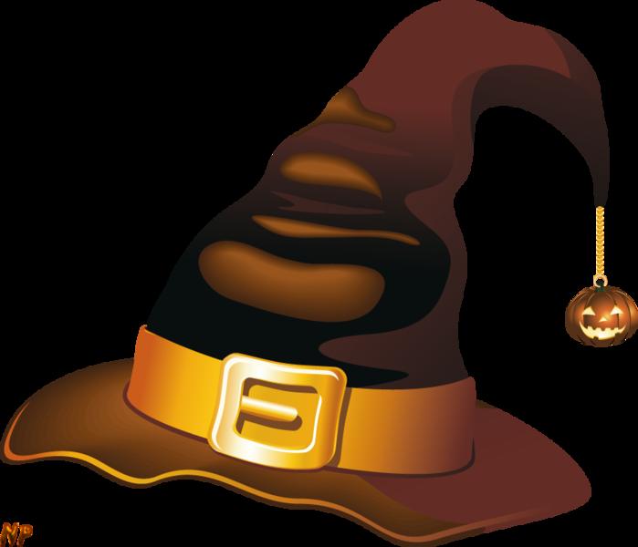 """Векторный клипарт """"Happy Halloween"""". Шляпы."""