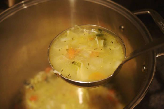турецкий суп с лапшой (700x465, 23Kb)