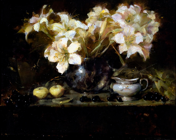 japanese-lilies (700x557, 429Kb)