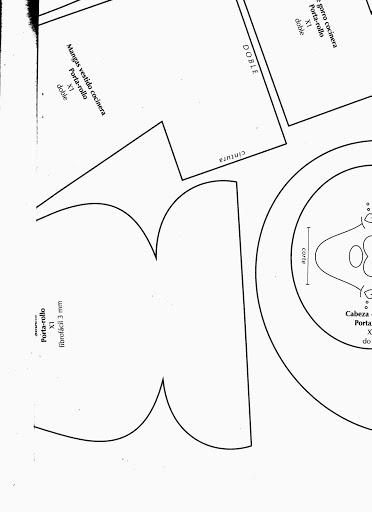 Шьем игрушки. Журнал с выкройками (43) (372x512, 49Kb)