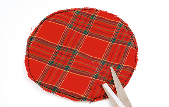 Рождественские АНГЕЛЫ - текстильные игрушки для елочки (2) (555x351, 300Kb)