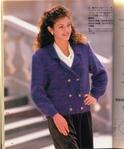 Коллекция уютных моделей, связанных спицами, из журнала Elegant knits 0965