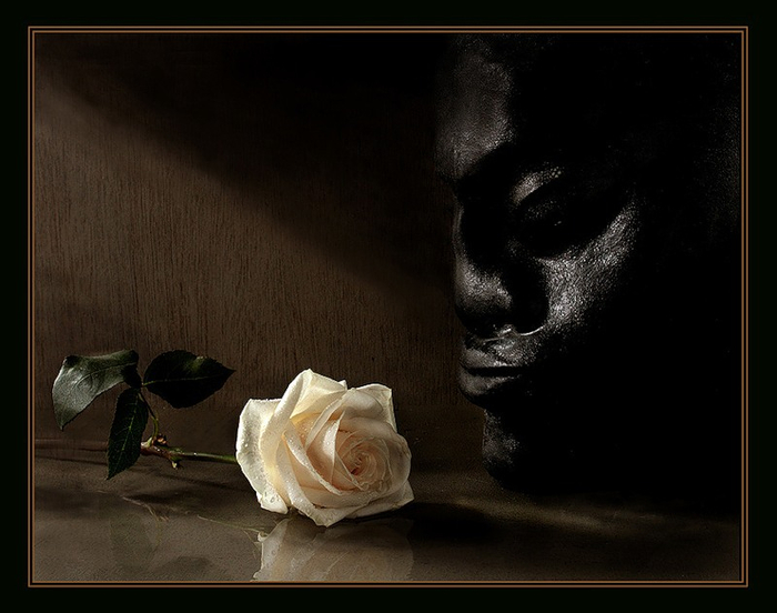 роза и бюст (688x518, 248Kb)