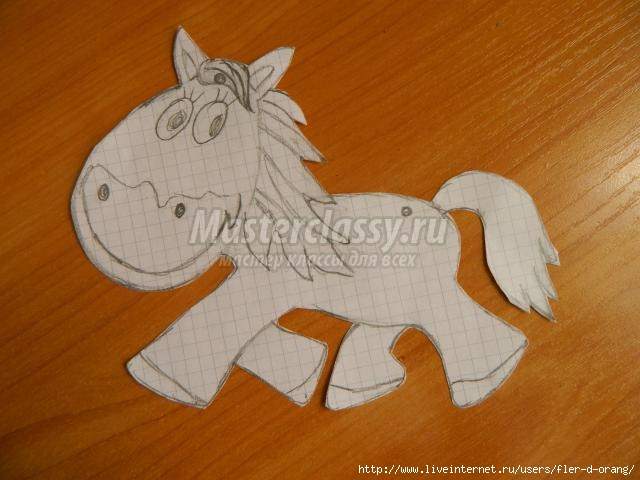 Поделка из соленого теста лошадь 75