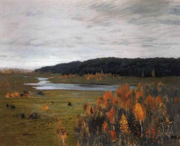 Левитан И.И. Осень. Долина реки (700x570, 57Kb)