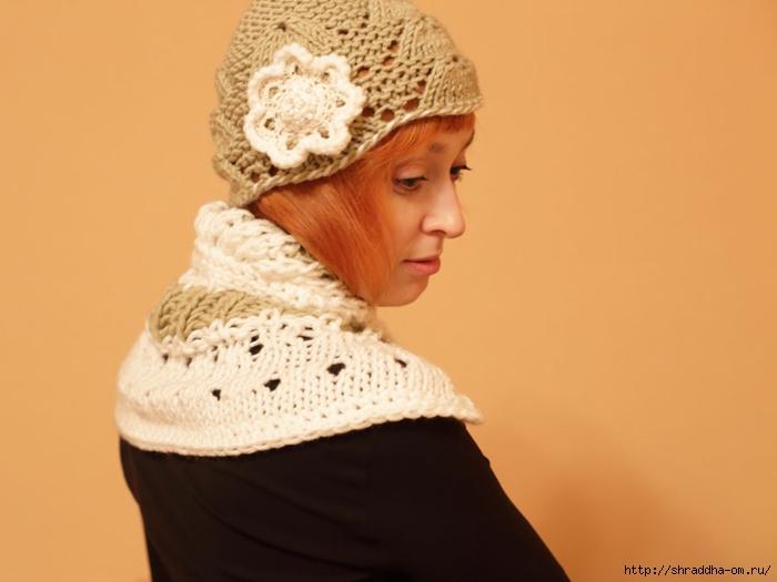 шапка и шарф-воротник, автор Shraddha (1) (700x525, 146Kb)