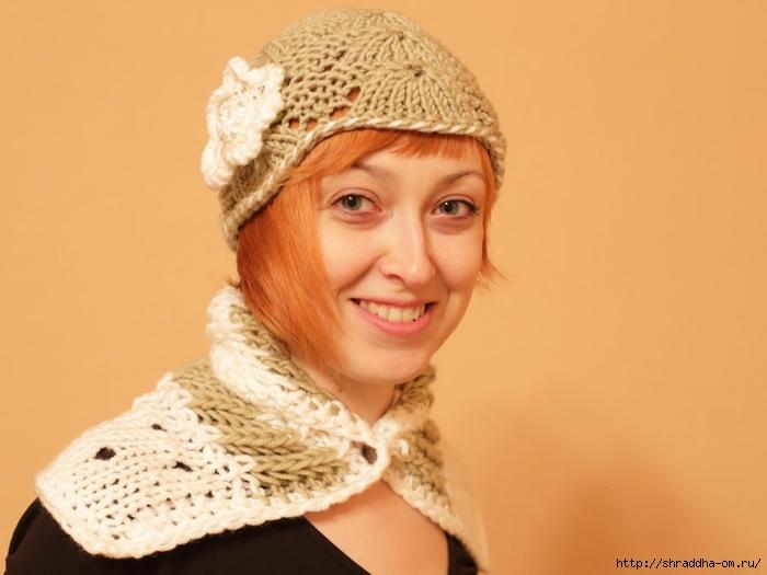 шапка и шарф-воротник, автор Shraddha (2) (700x525, 171Kb)