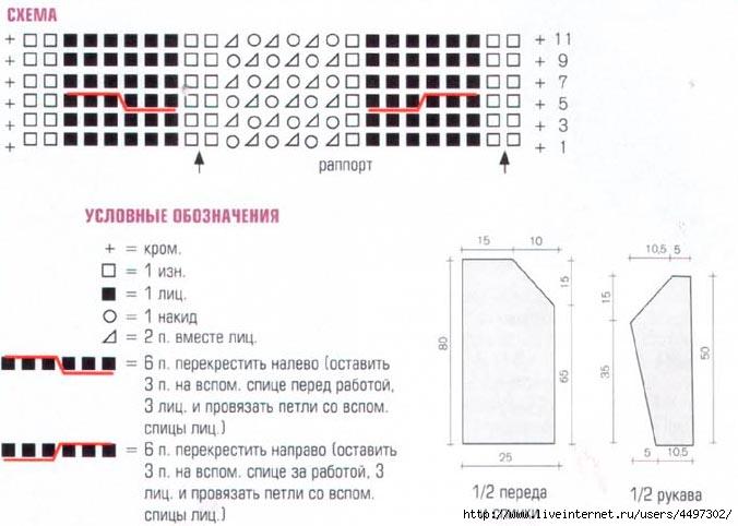viazanaja-tunika-shema (676x482, 137Kb)