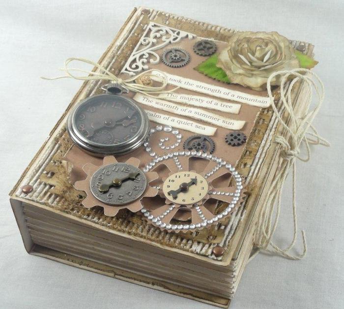 Оригинальная коробочка в форме