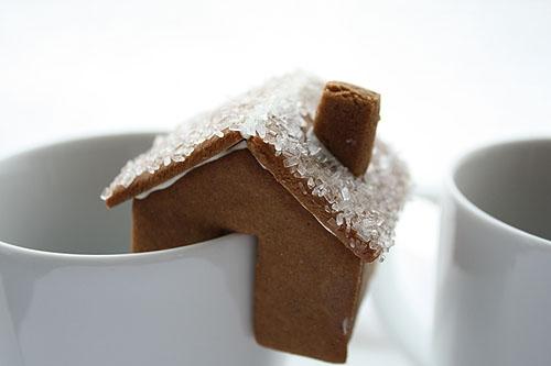 Имбирное печенье 3D - Новогодние елочки и мини домики на кружку (6) (500x333, 70Kb)