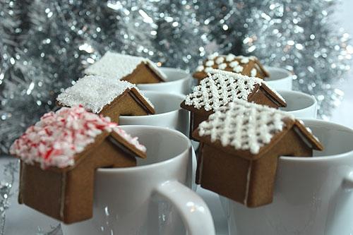 Имбирное печенье 3D - Новогодние елочки и мини домики на кружку (8) (500x333, 137Kb)