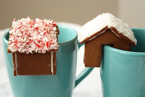 Имбирное печенье 3D - Новогодние елочки и мини домики на кружку (12) (500x333, 105Kb)