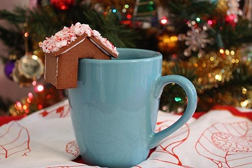 Имбирное печенье 3D - Новогодние елочки и мини домики на кружку (14) (500x333, 141Kb)