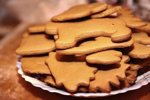 Имбирное печенье 3D - Новогодние елочки и мини домики на кружку (20) (500x333, 141Kb)