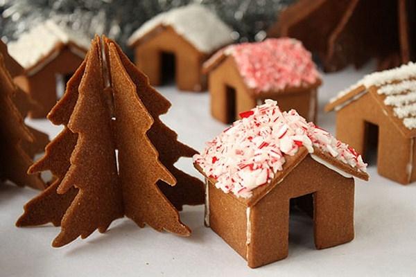 Имбирное печенье 3D - Новогодние елочки и мини домики на кружку (28) (600x400, 140Kb)
