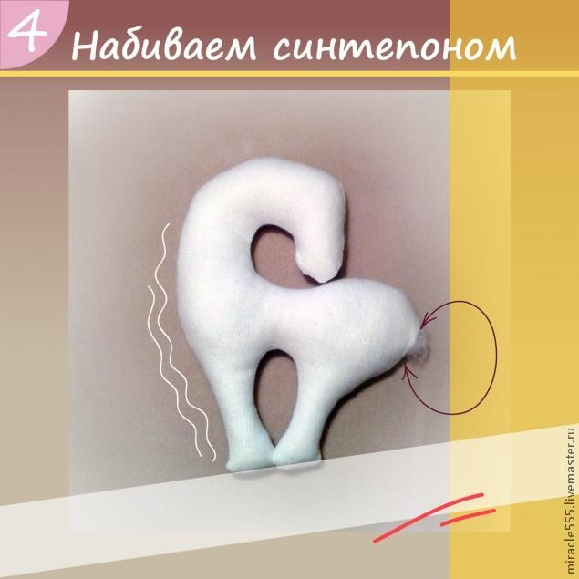 Гламурная кофейная лошадка к Новому году. Шьем текстильную игрушку (13) (635x635, 100Kb)