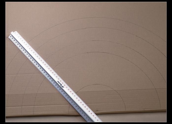 ВЕЕР из картона и газетных трубочек. Много идеи и мастер-класс (27) (700x506, 201Kb)