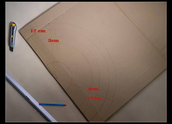 ВЕЕР из картона и газетных трубочек. Много идеи и мастер-класс (31) (700x506, 164Kb)