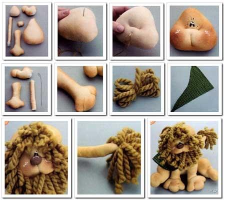 Costure brinquedos para as crianças.  Padrões (25) (450x399, 117kb)