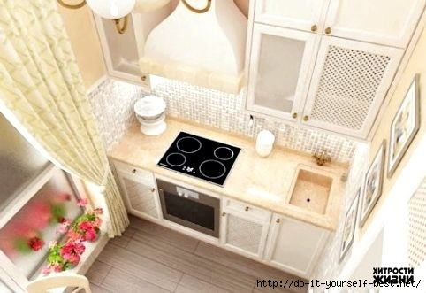 Дизайн кухни в 5 кв.м.