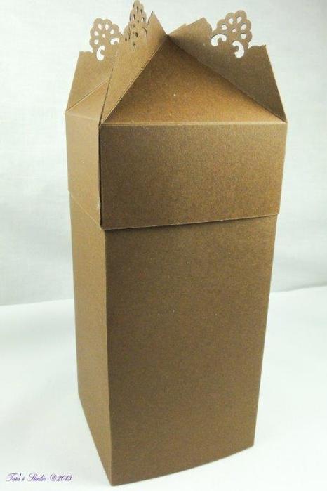 Скрапбукинг. Очень красивая коробочка (29) (466x700, 163Kb)