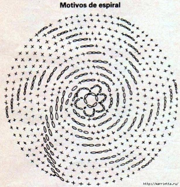 Вязание крючком. Модели со схемами (24) (615x640, 282Kb)