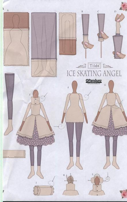 Одежда на куклу тильда