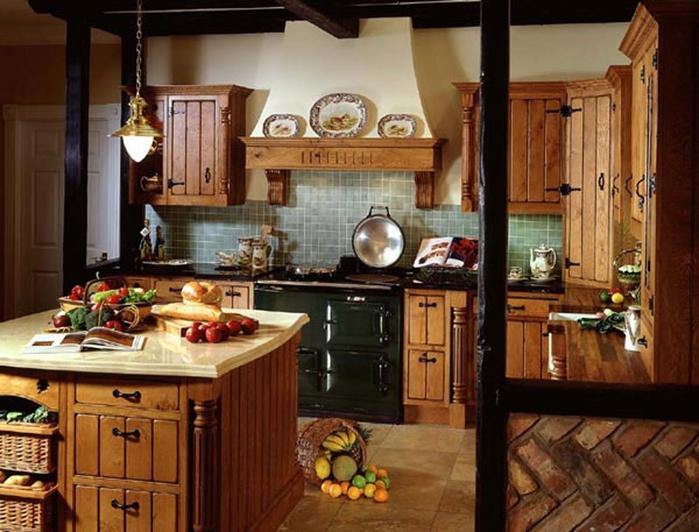 кухня в стиле кантри (5) (700x532, 270Kb)