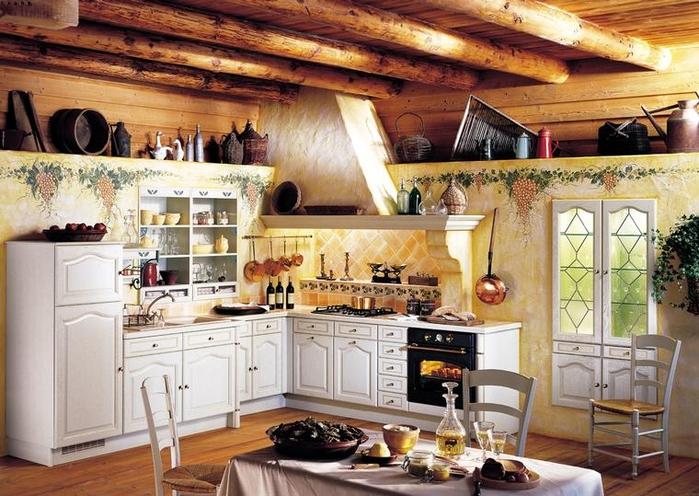 кухня в стиле кантри (9) (700x496, 301Kb)