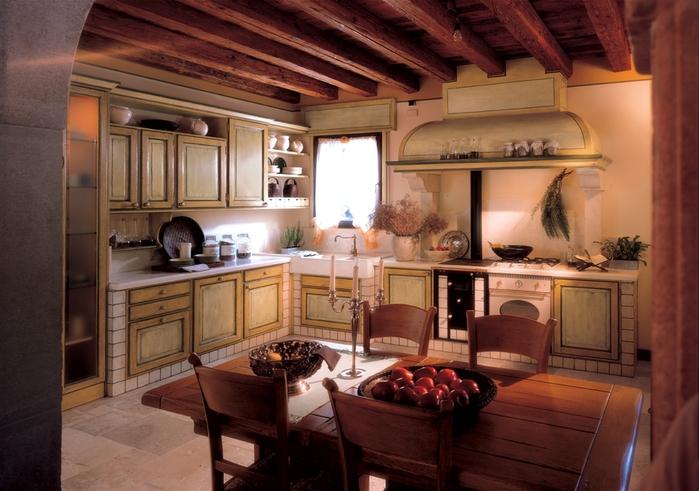 кухня в стиле кантри (11) (700x491, 259Kb)