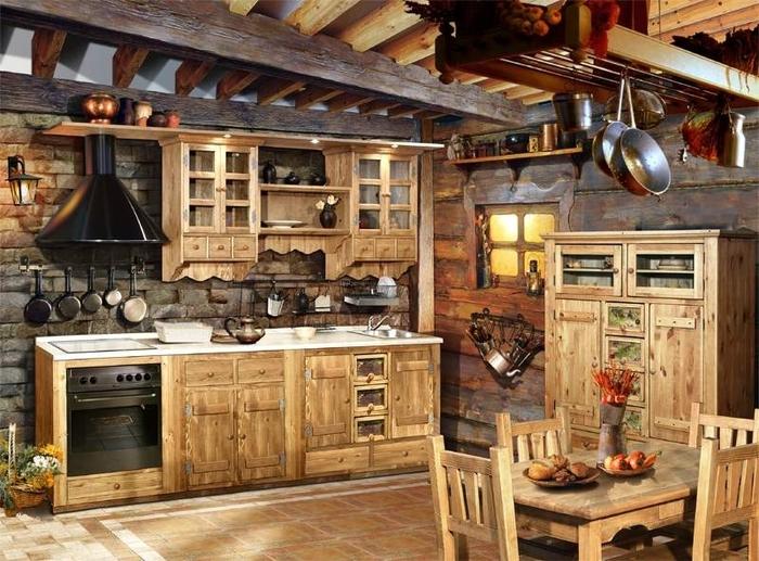 кухня в стиле кантри (13) (700x517, 321Kb)