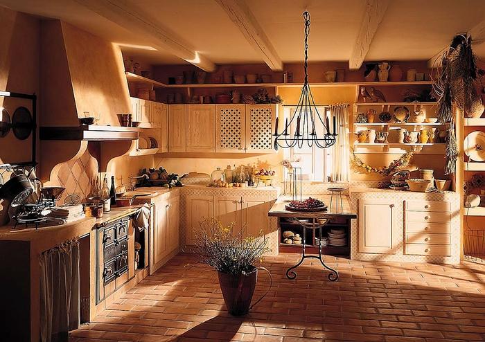 кухня в стиле кантри (15) (700x494, 316Kb)