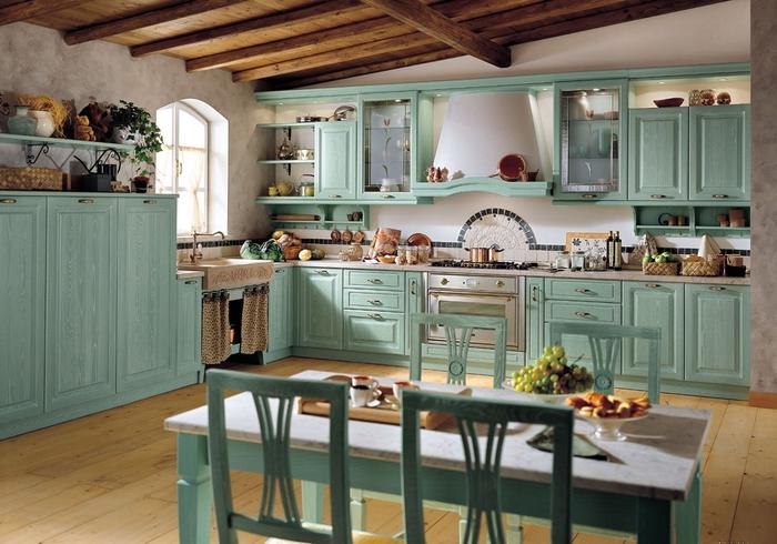 кухня в стиле кантри (23) (700x490, 266Kb)