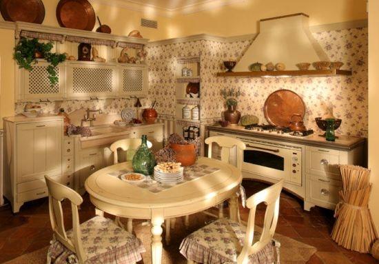 кухня в стиле кантри (25) (550x383, 129Kb)