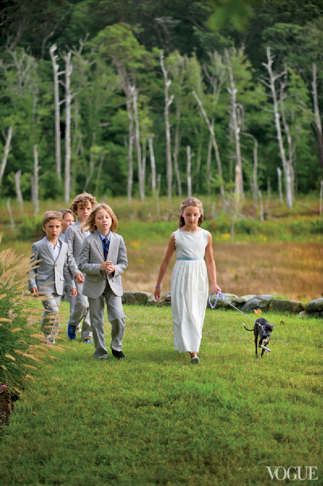 Seth meyers wedding vogue