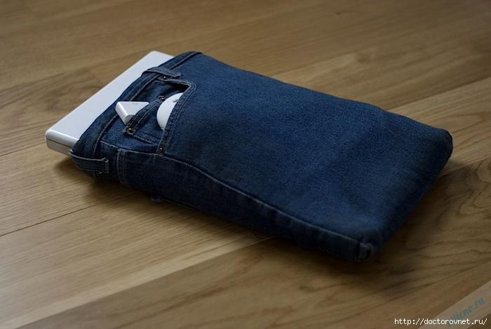Как сшить чехол для телефона из джинсы своими руками